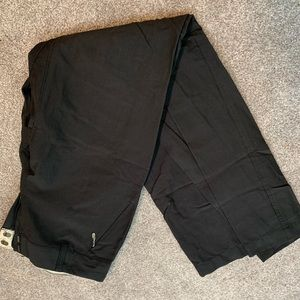 The north face black pants